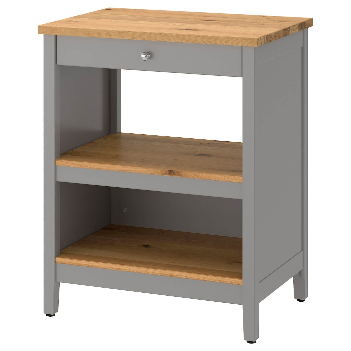 IKEA TORNVIKEN kitchen island Gives you extra storage, utility and work space.