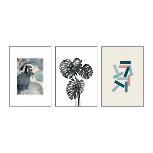 IKEA TRILLING poster, set of 3 Motif created by 3am/Liam Stevens/Cass Loh.