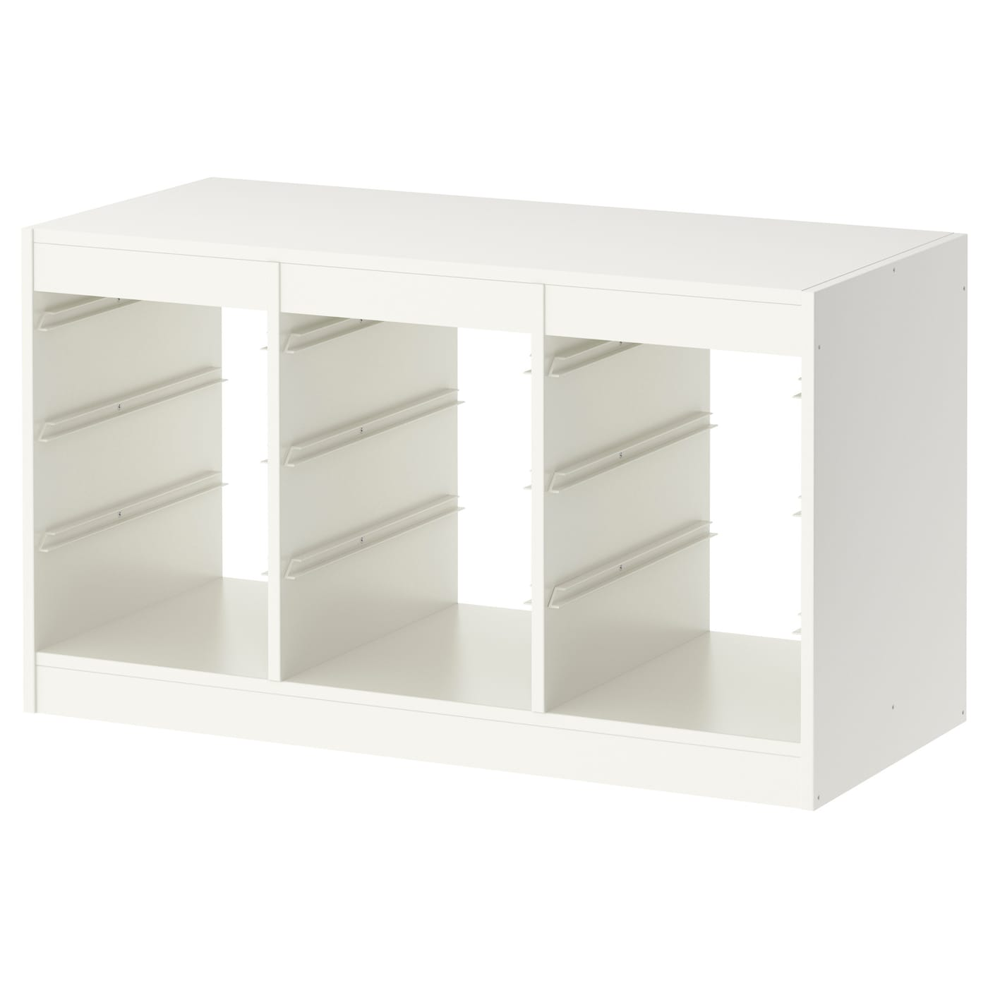 IKEA TROFAST frame Low storage makes it easier for children to reach and organise their things.