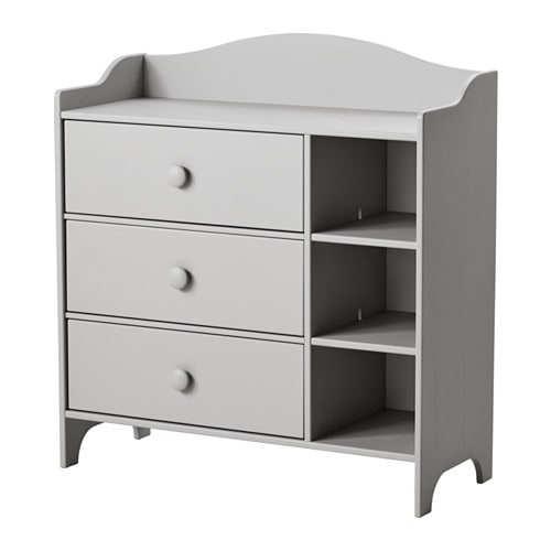 Trogen chest of drawers light grey 100x108 cm ikea for Ikea grey bedroom furniture