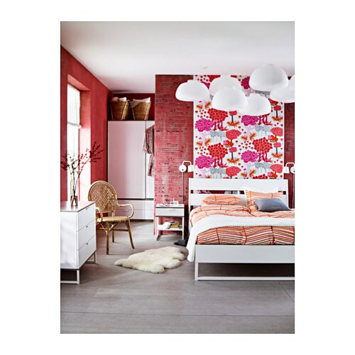 Kinderzimmer Mit Ikea Einrichten ~ IKEA TRYSIL bed frame Adjustable bed sides allow you to use mattresses