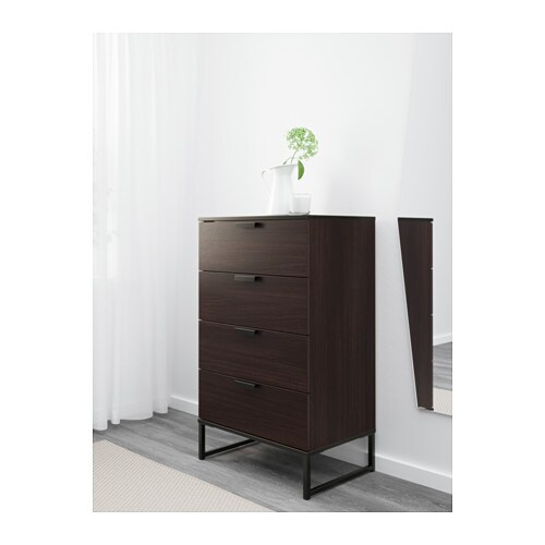 Kitchen Island Ikea Thailand ~ IKEA TRYSIL chest of 4 drawers Smooth running drawers with pull out