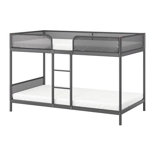 Tuffing Bunk Bed Frame Dark Grey 90 X 200 Cm Ikea