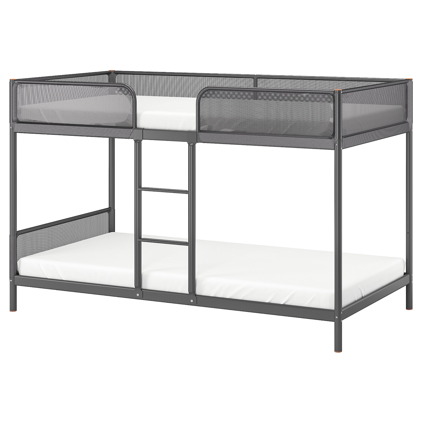 IKEA TUFFING bunk bed frame A good solution where space is limited.