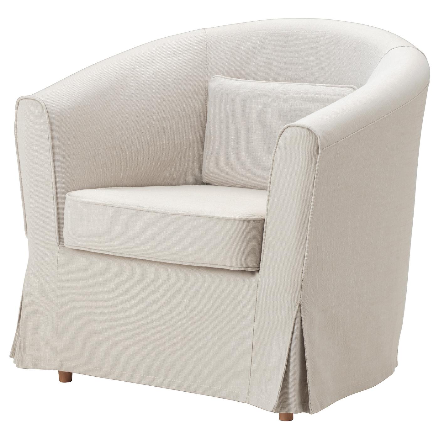 tullsta armchair cover nordvalla beige ikea. Black Bedroom Furniture Sets. Home Design Ideas
