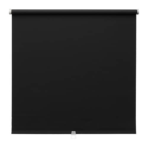Tupplur Block Out Roller Blind Black 100 X 195 Cm Ikea