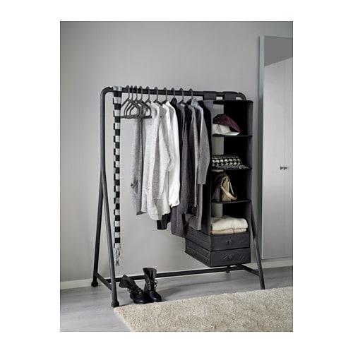 TURBO Clothes Rack Inoutdoor Black 117x59 Cm IKEA