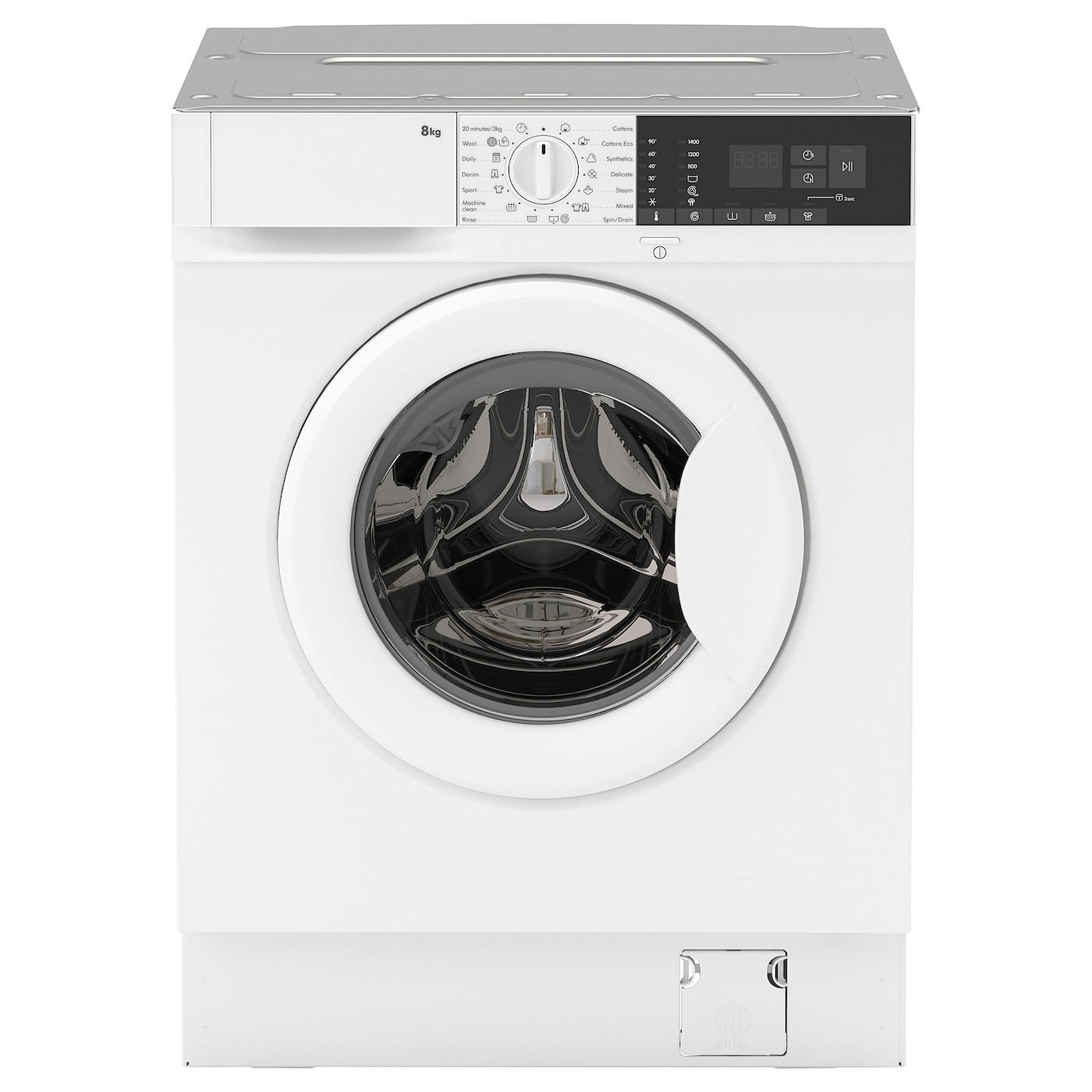 TVÄTTAD Integrated washing machine - white - IKEA on Washing Machine  id=39716