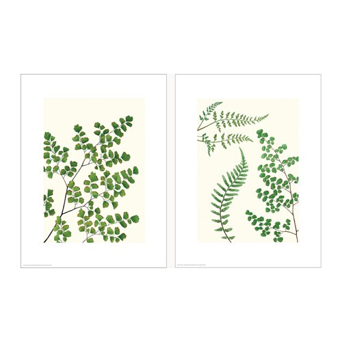 IKEA TVILLING poster, set of 2 Motif created by Donna Bronson.