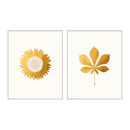 IKEA TVILLING poster, set of 2 Motif created by Silkie Spingies.