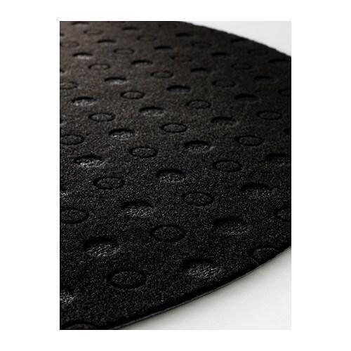 TVIS Door mat Halfmoonblack 50×80 cm  IKEA