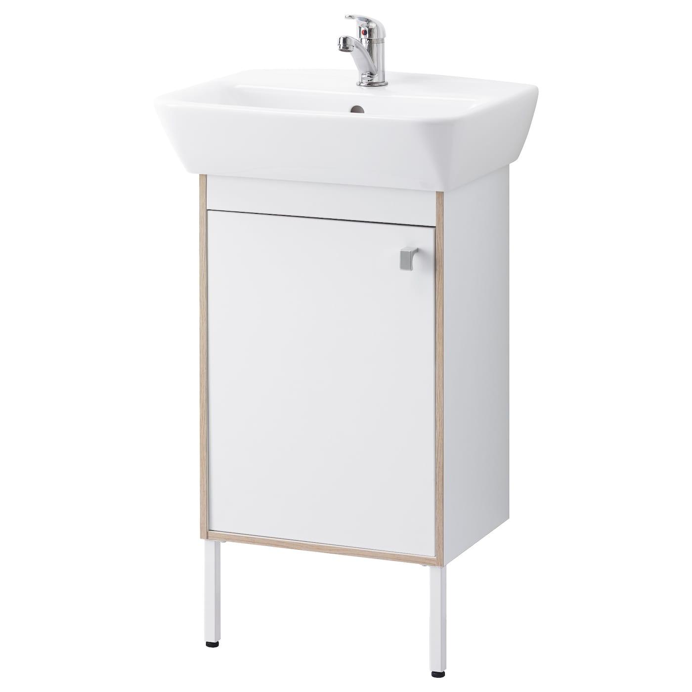 tyngen washbasin cabinet with 1 door white 51x40x88 cm ikea. Black Bedroom Furniture Sets. Home Design Ideas