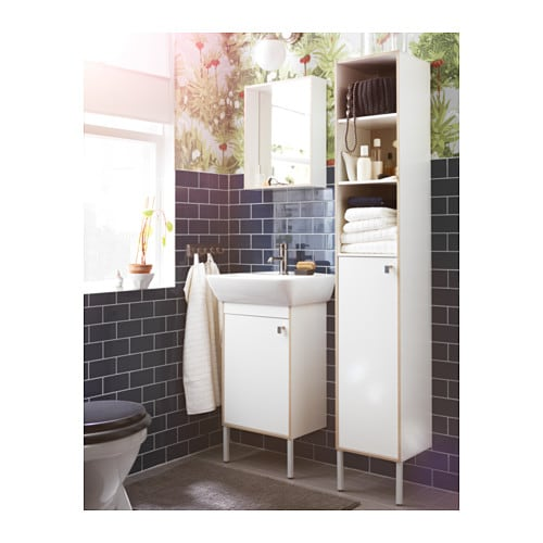 tyngen washbasin cabinet with 1 door white 51x40x88 cm ikea