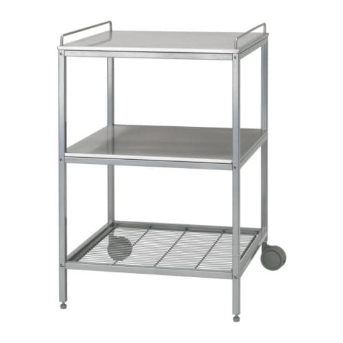 IKEA UDDEN kitchen trolley Gives you extra storage, utility and work space.
