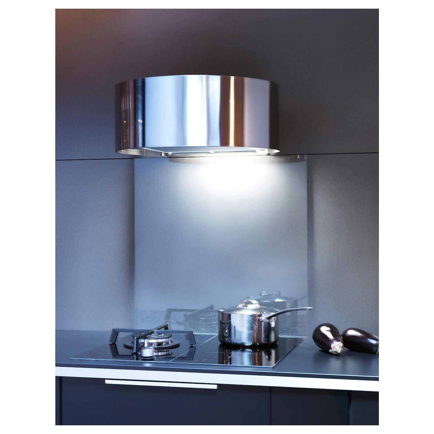 Ikea Kitchen Hood: UDDEN Wall Mounted Extractor Hood Stainless Steel