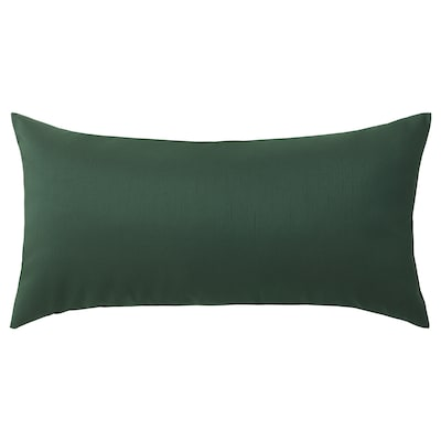 ULLKAKTUS cushion dark green 30 cm 58 cm 250 g 300 g