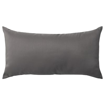 ULLKAKTUS cushion dark grey 30 cm 58 cm 250 g 300 g