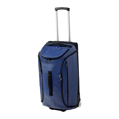 IKEA UPPTÄCKA duffle bag on wheels
