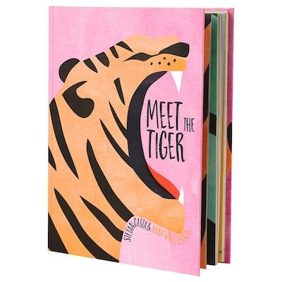 URSKOG book Meet the tiger 104 pieces 20.6 cm 26.8 cm