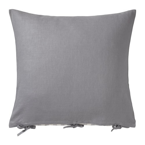Ursula cushion cover grey 65x65 cm ikea - Coussin tapissier 60x60 ...