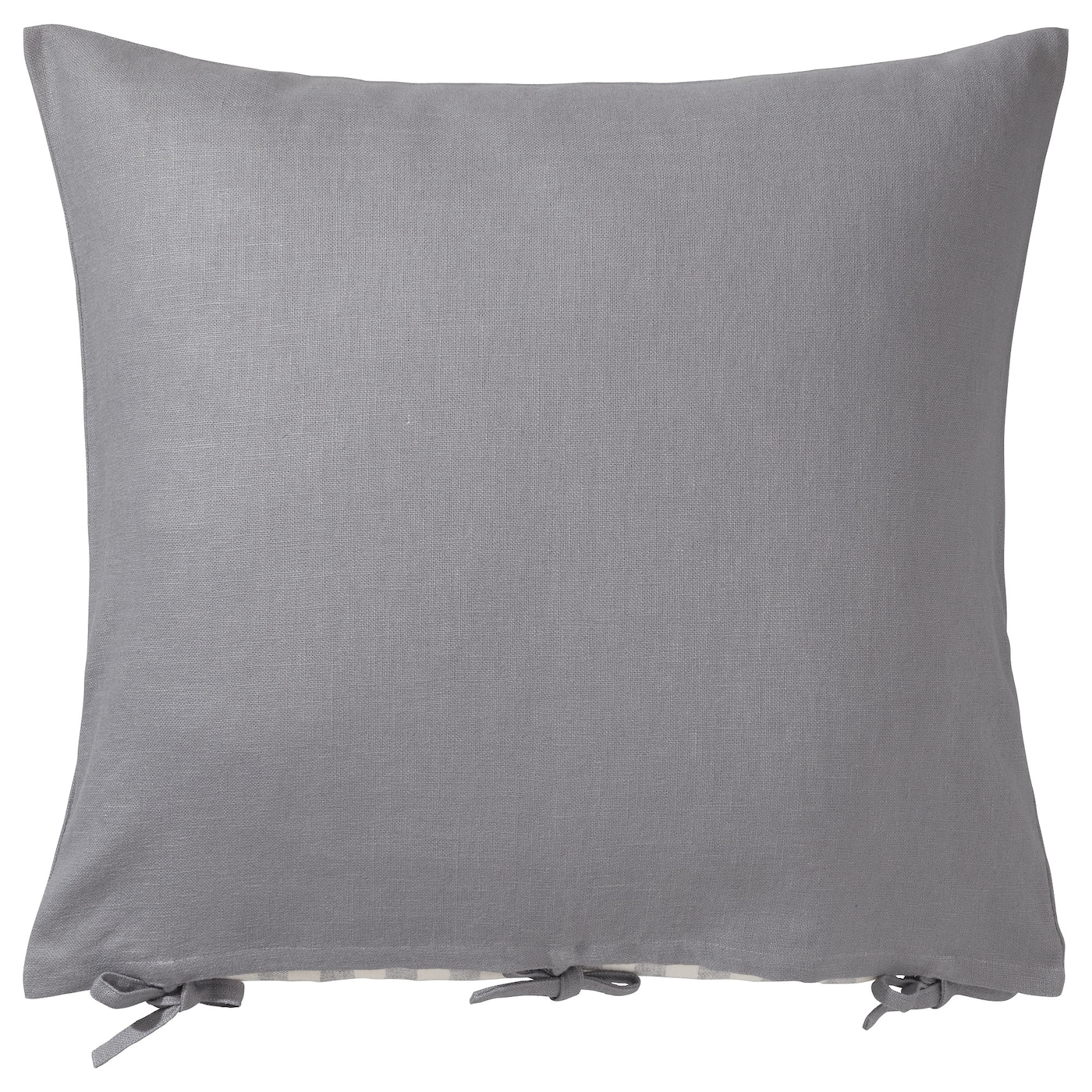 Ursula cushion cover grey 65x65 cm ikea - Housse coussin canape 60x60 ...