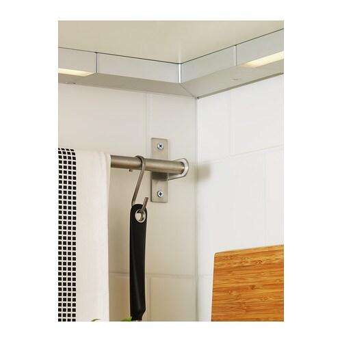 utrusta corner joiner aluminium colour ikea. Black Bedroom Furniture Sets. Home Design Ideas