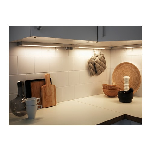 Utrusta led worktop lighting white 40 cm ikea - Installation plan de travail ikea ...