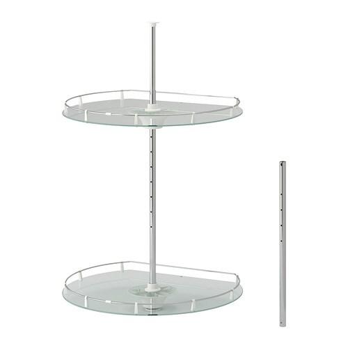 Ikea Jansjo Floor Lamp Review ~ UTRUSTA Wall corner cabinet carousel  IKEA