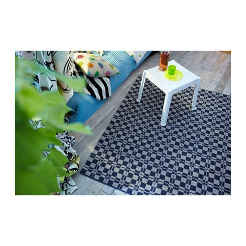 V rum rug flatwoven in outdoor grey 160x230 cm ikea for Outdoor teppich ikea