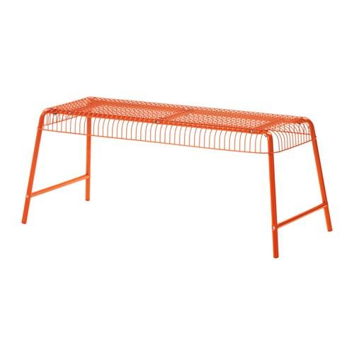 VSTERN Bench Inoutdoor Orange IKEA