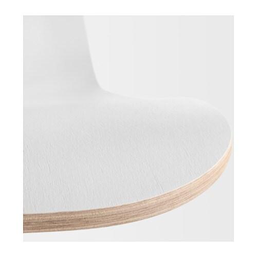 V gsberg sporren swivel chair white black ikea for Ikea white swivel chair