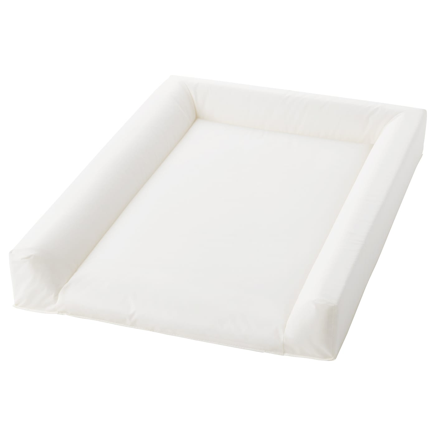 IKEA VÄDRA babycare mat The three raised edges increase safety and reduce the risk of falls.