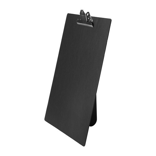 IKEA VÄLBEKANT clipboard The strong clip keeps all your important papers securely in place.