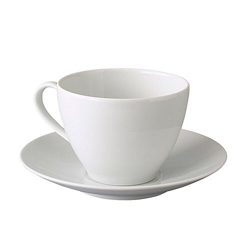 IKEA VÄRDERA teacup with saucer