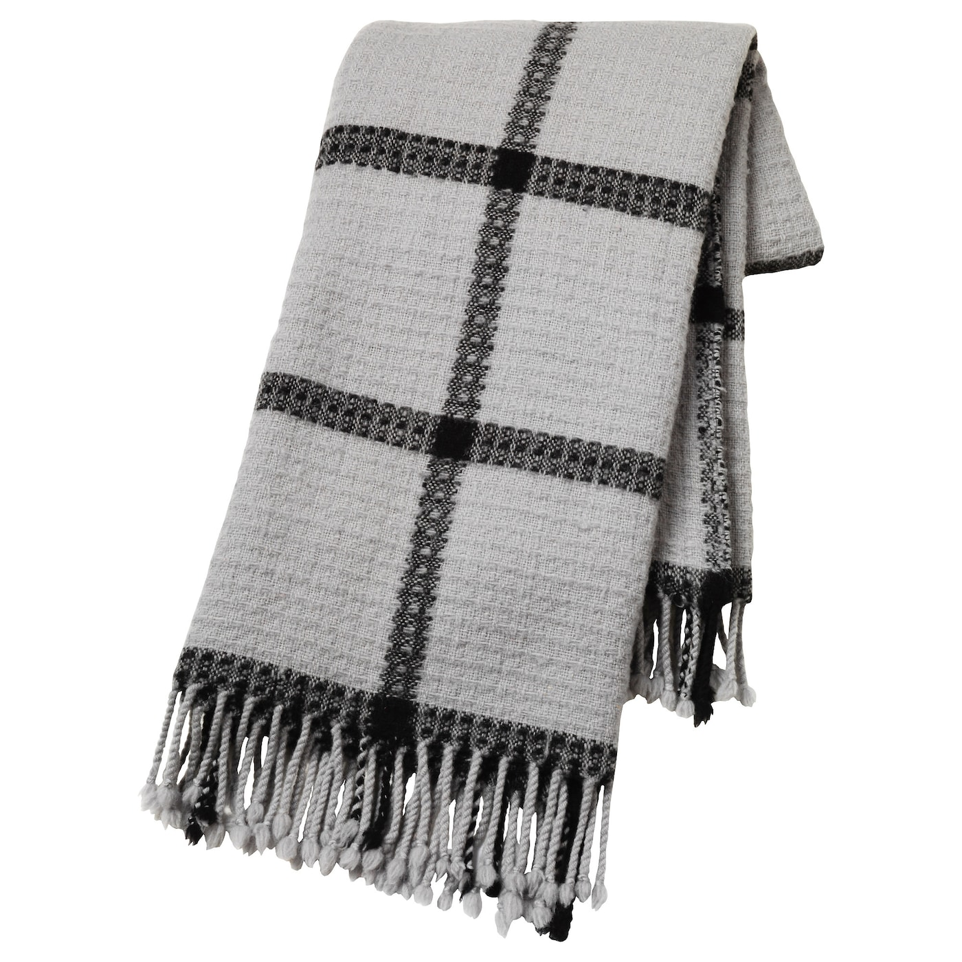 IKEA VÄSSAD throw A light-weight, decorative wool blanket that keeps you warm.