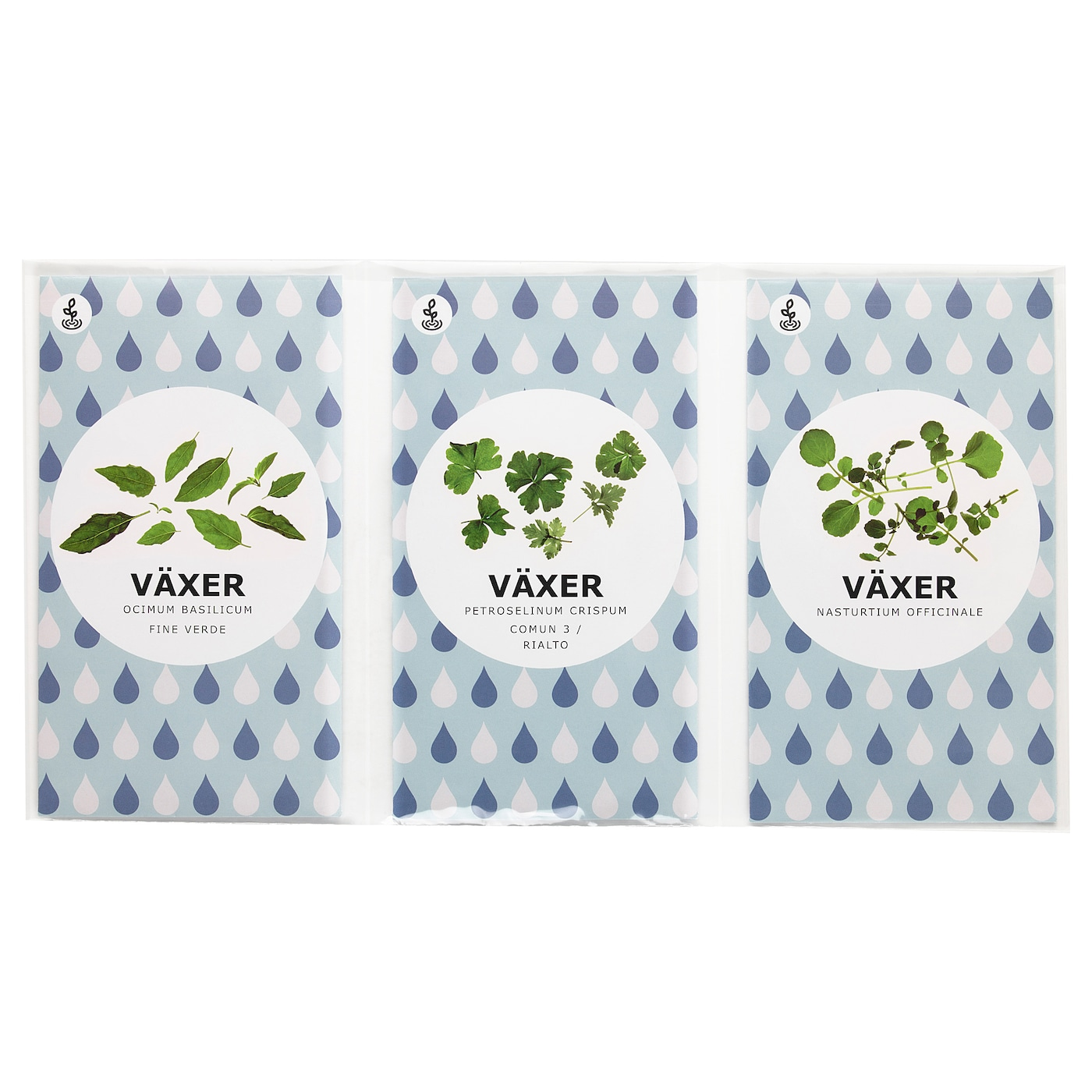IKEA VÄXER seeds These seeds can be used for both hydroponic and traditional cultivation.