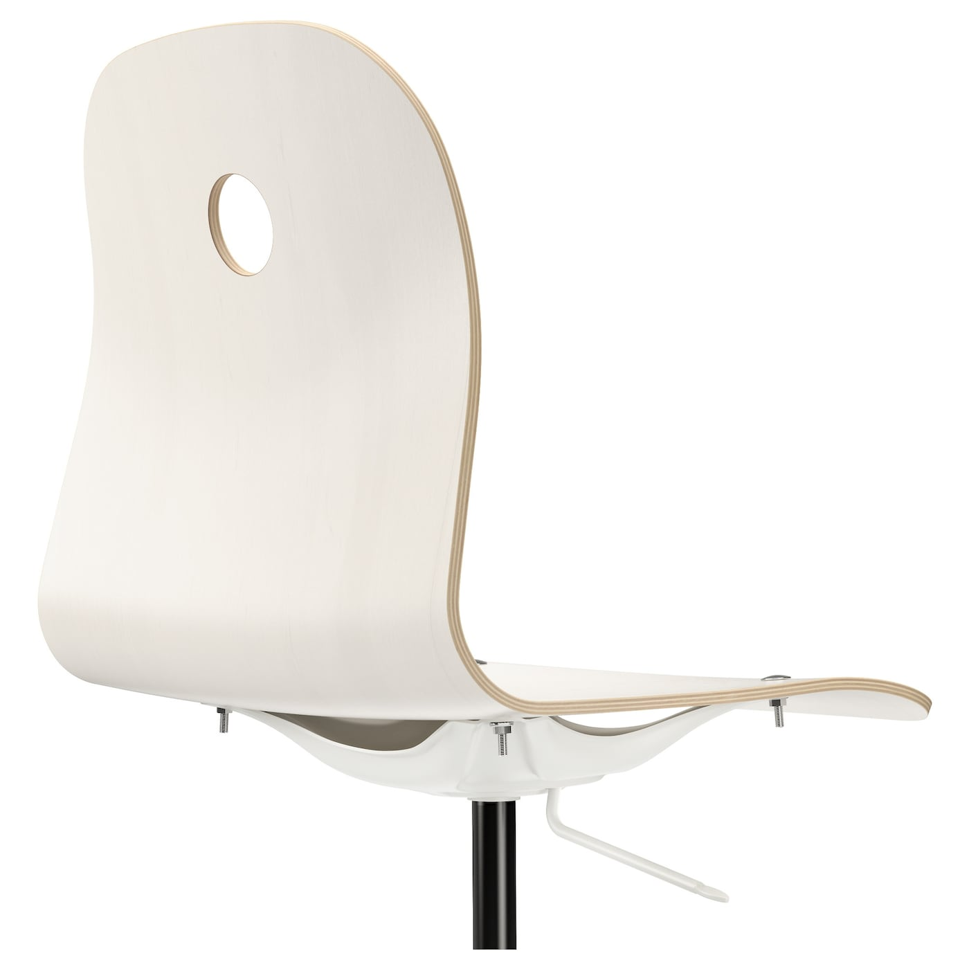 IKEA VÅGSBERG/SPORREN Swivel Chair You Sit Comfortably Since The Chair Is  Adjustable In Height