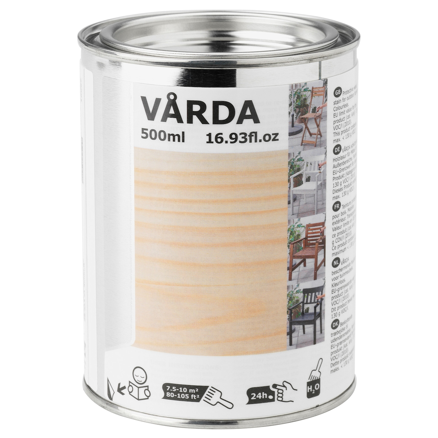IKEA VÅRDA wood stain, outdoor use