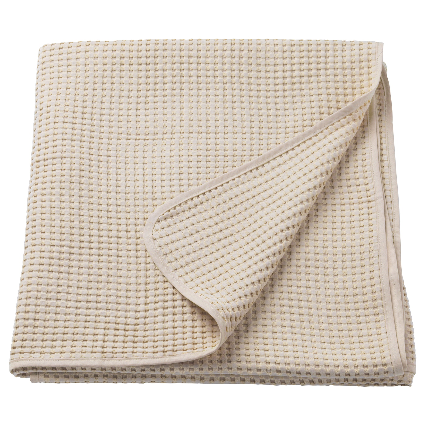 IKEA VÅRELD bedspread Can be used as bedspread for a single size bed or as a large size blanket.