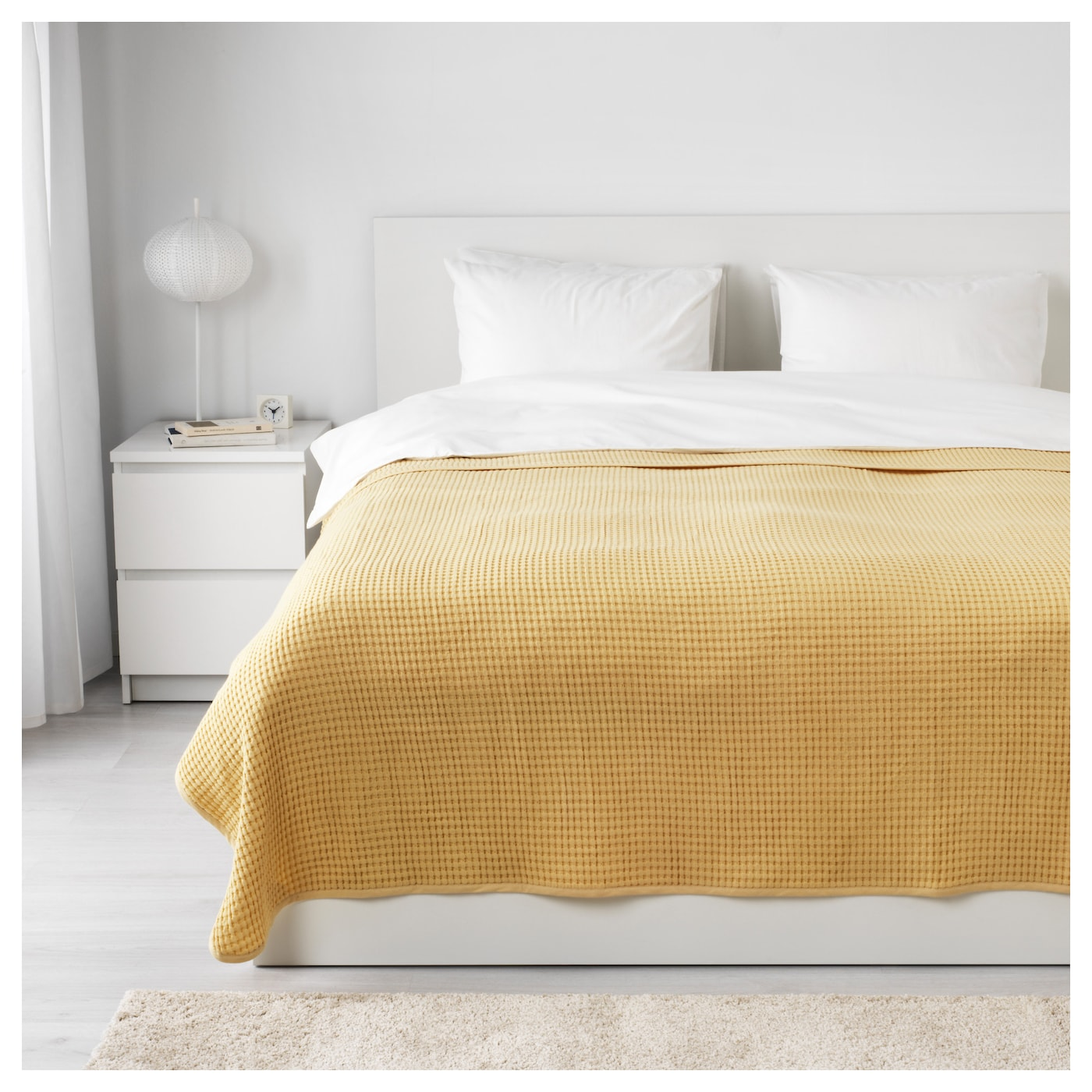 IKEA VÅRELD bedspread Can be used as bedspread for a double size bed or as a large size blanket.
