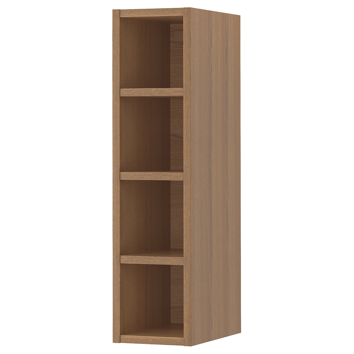 IKEA VADHOLMA open storage Makes the contents of the cabinet easy to overview and access.
