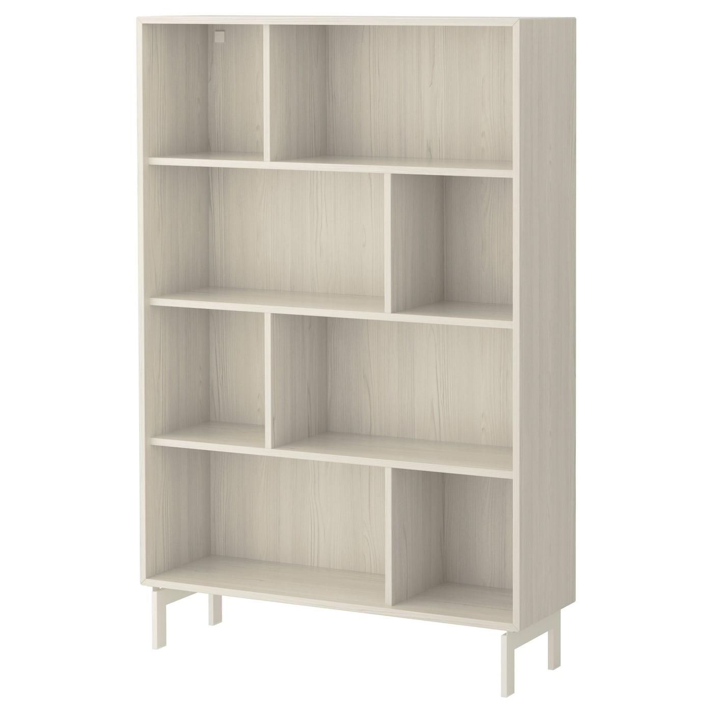 valje shelf unit larch white 100x150 cm ikea. Black Bedroom Furniture Sets. Home Design Ideas