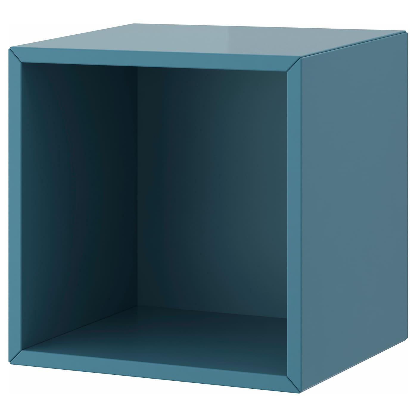 Valje wall cabinet blue turquoise 35x35 cm ikea - Cube de rangement ikea ...