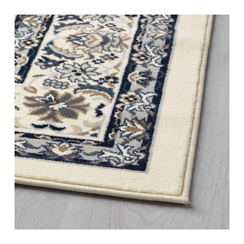 vall by rug low pile beige blue 170x230 cm ikea. Black Bedroom Furniture Sets. Home Design Ideas