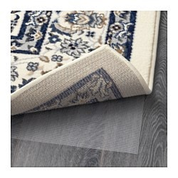 Vall 214 By Rug Low Pile Beige Blue 170x230 Cm Ikea