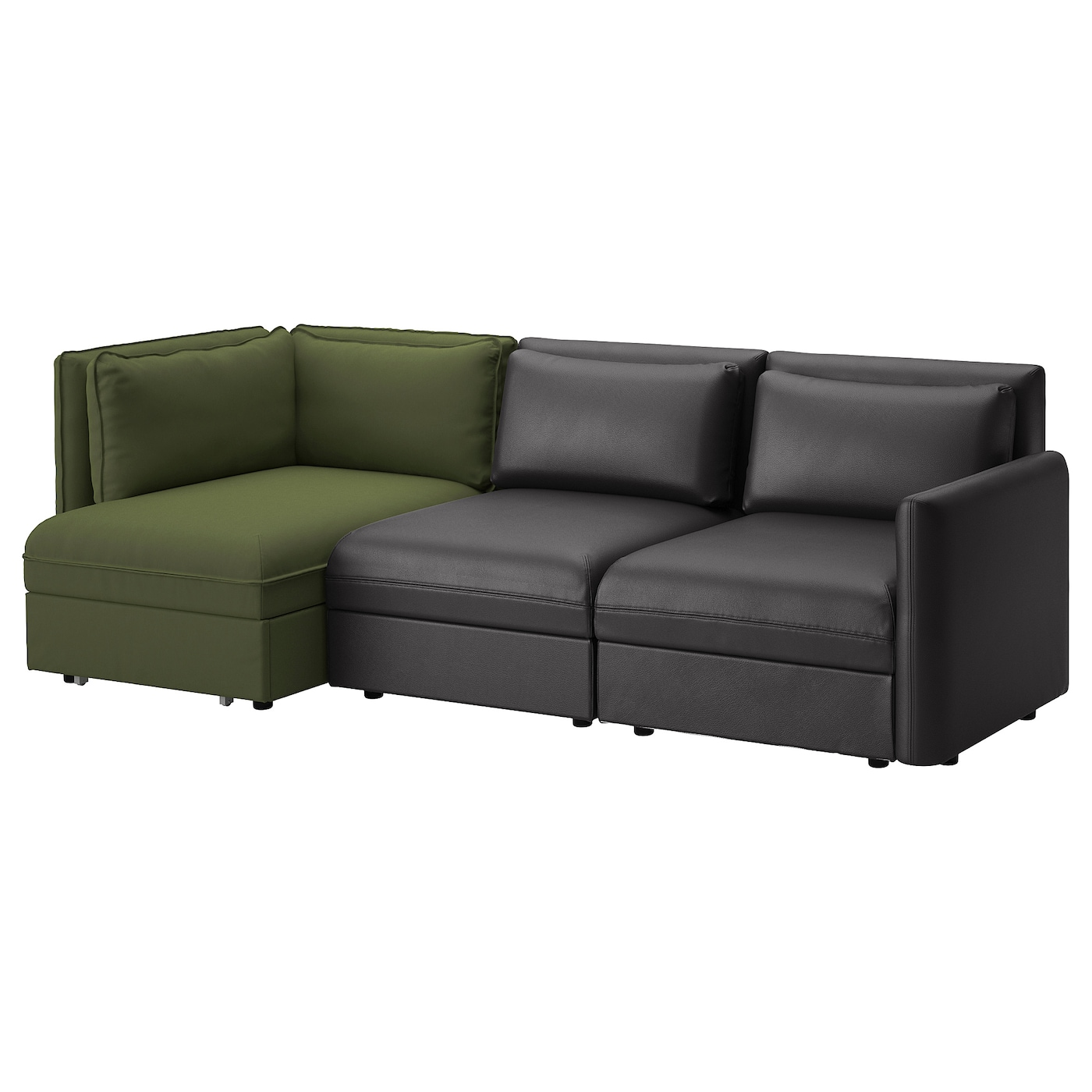 Leather sofa bed Sectional Vallentuna Ikea Sofa Beds Ikea Ireland Dublin