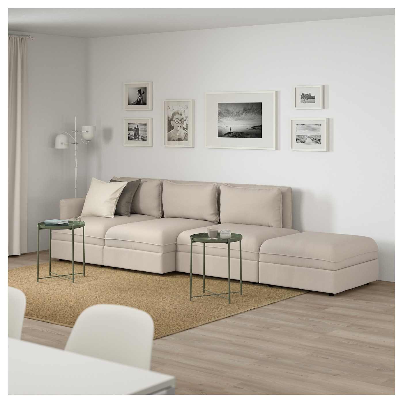IKEA VALLENTUNA 4-seat sofa 10 year guarantee. Read about the terms in the guarantee brochure.