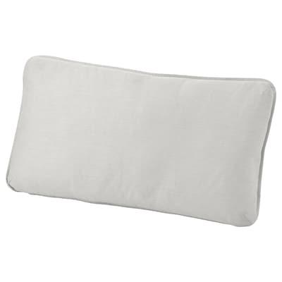 VALLENTUNA back cushion Ramna light grey 40 cm 75 cm