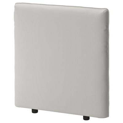 VALLENTUNA backrest Ramna light grey 84 cm 80 cm 13 cm 80 cm