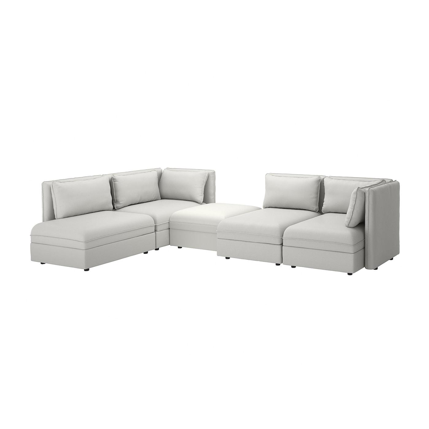 Ikea Vallentuna Modular Corner Sofa 4 Seat